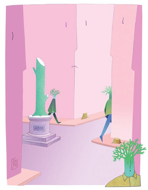 il verde in città