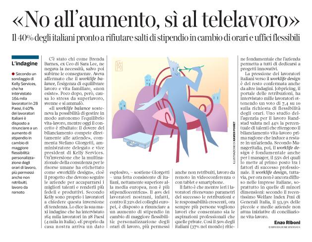 Corriere economia - Work-Life Design - 15.03.16  - pp.33
