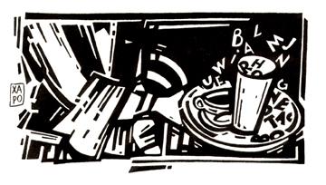cafés littéraires  - 1