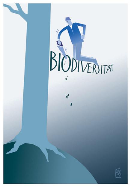 Verlust der Biodiversität - Grünen AT- 04.17