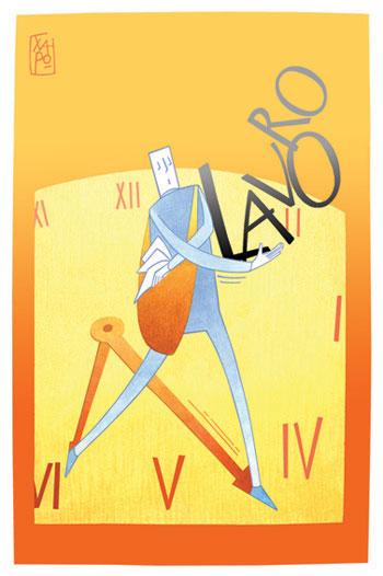 Corriere Economia - 14.09.12 - Chi resta lavora più tempo