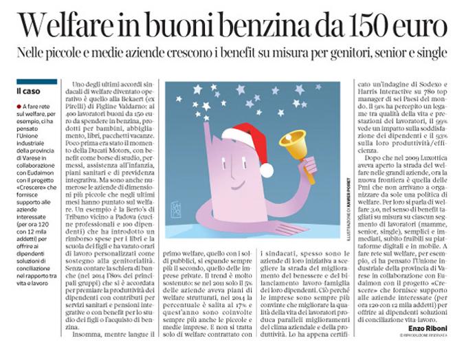 Corriere Economia - Arriva il Welfare - 23.06.15