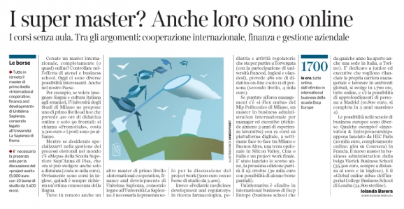 Corriere Economia - Intelligenza artificiale. Specialisti cercasi - 6.06.17 - pp.35