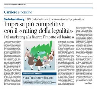 Corriere Economia - 17.05.13 - Gli illeciti in ufficio