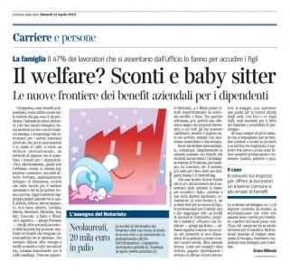 Corriere Economia - 12.04.13 - Imprese e persone - Benefici aziendali