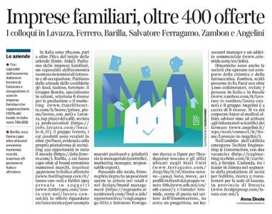 292 - Corriere Economia - imprese familiari ; assunzioni - 30.04.19 - pp.33