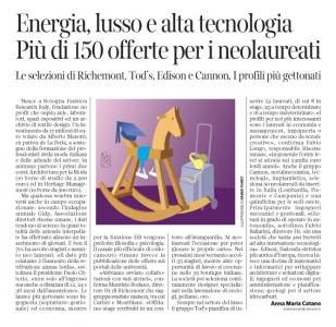 Corriere Economia - opportunità giovani e neolaureati - 25.07.17 - pp.31