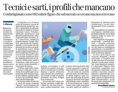 297 - Corriere Economia - artigiani, digitali o tradizionali - 4.06.19 - pp. 37