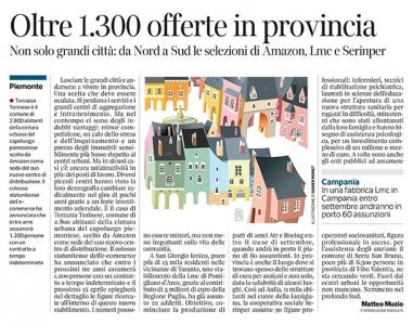 290 - Corriere Economia  - opportunità in piccole città - 09.04.19 - pp.43