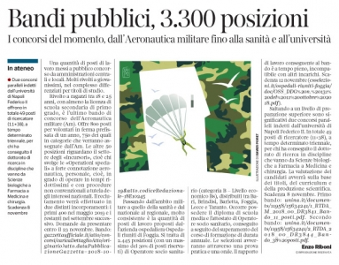 271 - Corriere Economia - Aeronautica militare-concorso - 06.11.18 - pp.35