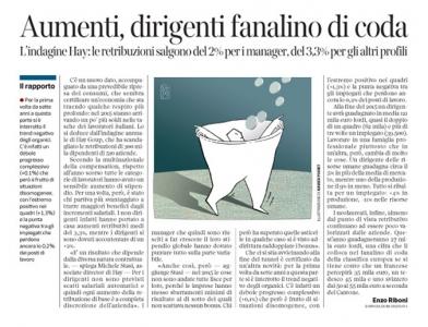 Corriere Economia - aumenti in arrivo - 20.10.15