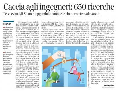 250 - Corriere Economia - stipendi a confronto secondo le città - 17.04.18 - pp.39
