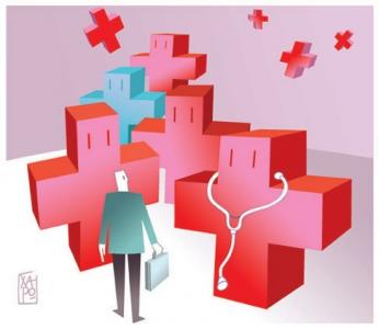 Corriere Economia - lavoro nella sanità - 17.11.15