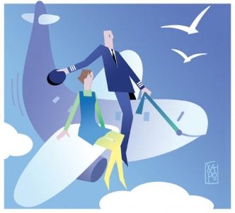 259 - Corriere Economia - assunzioni di piloti,hostess,stewards - 26.06.18