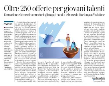228 - Corriere Economia - graduate program - 19.09.17 - pp.37