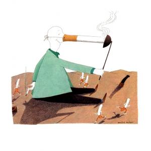 Marie Claire (Ita.) - il fumo