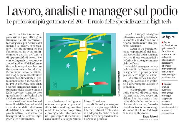 Corriere Economia - Professioni nel 2017-classifica - 31.01.17 - pp.35