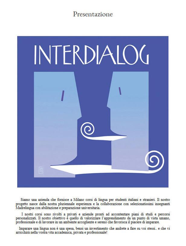 interdialog.it - Corsi di lingue straniere - 2018