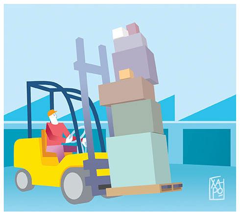 291 - Corriere Economia - assunzioni nella logistica - 16.04.19