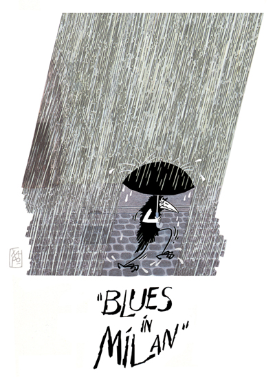 Blues in Milan