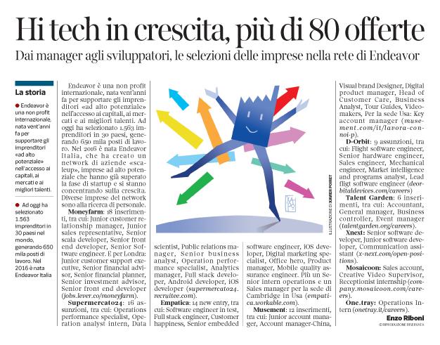 244 - Corriere Economia - aziende ad alto potenziale-assunzioni - 20.02.18 - pp. 37
