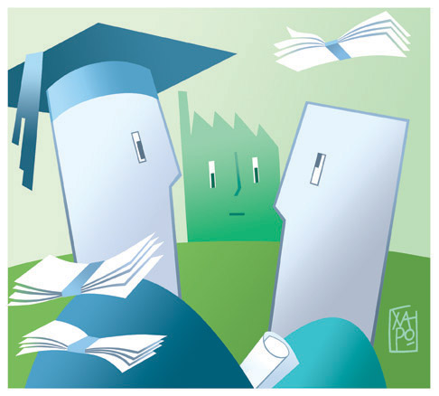 Corsera Eco - Stipendio-effetto laurea - 17.05.16
