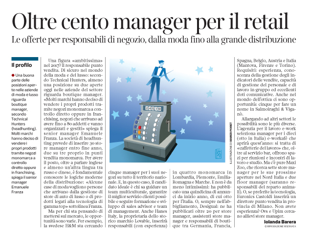 Corriere Economia - responsabili  punti vendita  - 28.03.17 - pp.39