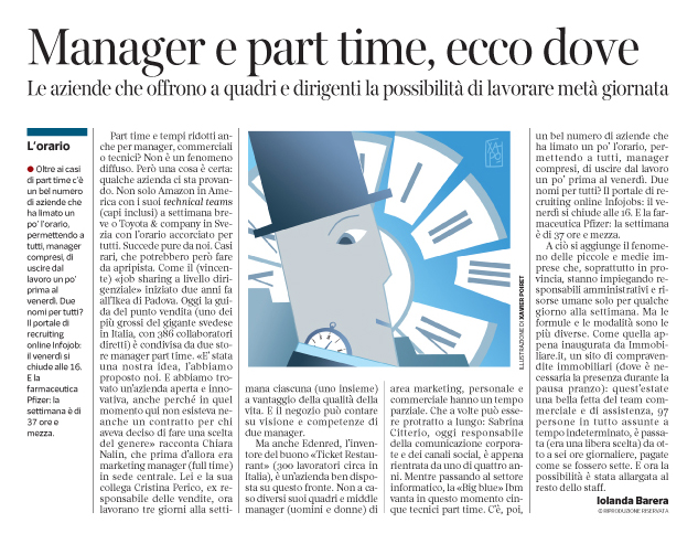 Corriere Economia - anche managers part-time - 15.11.16 - pp.43