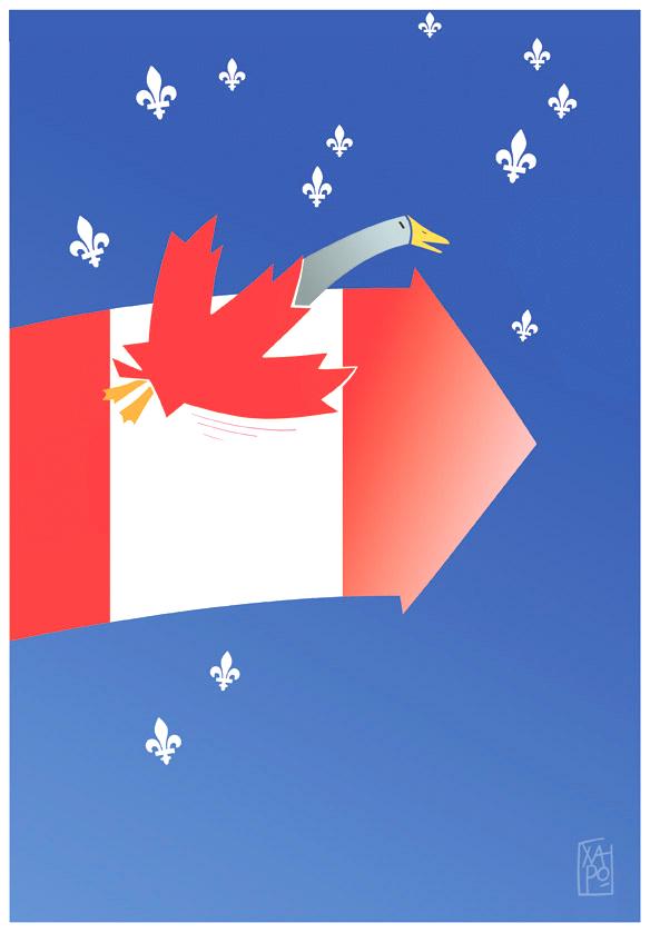 Québec - Vol de nuit - Déc. 2015
