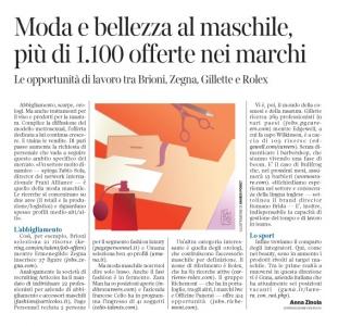 Corriere Economia - aziende di bellezza al maschile - 7.03.17 - pp.33