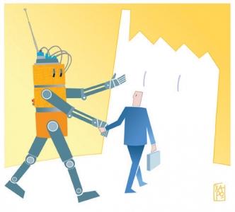 Corriere economia - assunzioni nell'industria della robotica - 3.03.15