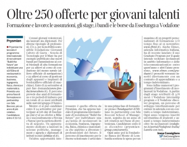 228 - Corriere Economia - graduate program - 19.09.17 - pp.37