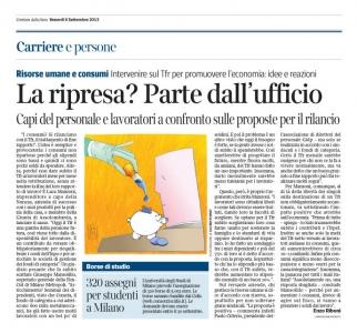 Corriere Economia - 06.09.13 - Tfr al contagocce