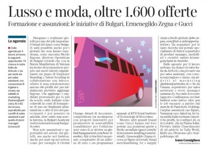 231 - Corriere Economia - moda,beauty,lusso,assunzioni -17.10.17 - pp.39