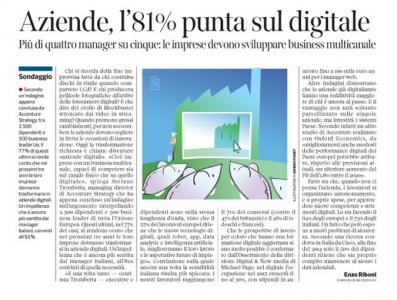 Corriere Economia - Aziende digitali - 26.05.15