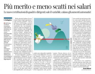 Corriere economia - Stipendi tra variabile e fisso - 16.02.16 - pp.31