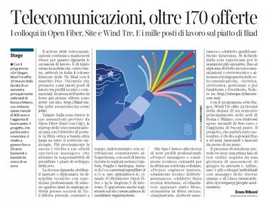 227 - Corriere Economia - Fibra ottica BUL e Hi-tec jobs - 12.09.17 - pp.39