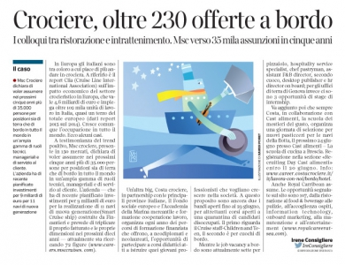 Corriere economia - mestieri del mare - 14.06.16 - pp.43