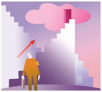 229 - Corriere Economia - clouds, socials, hi-tech, assunzioni  - 26.09.17