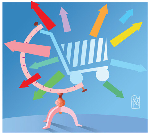263 - Corriere Economia - assunzioni nella grande distribuzione - 24.07.18