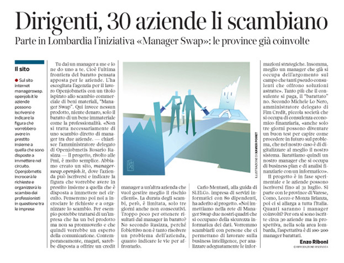 Corriere economia - curricula online - 05.05.15